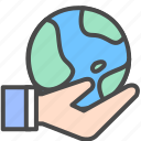 earth, network, share, share network icon
