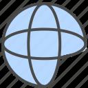 internet, network, online icon