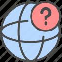issue, network, online help, online support icon