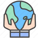 earth, internet, share icon