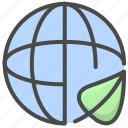 environmental, gobal, health network, internet, network, protection, world icon