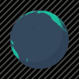 america, earth, globe, north, ocean, planet, sea icon