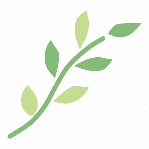 branch, decoration, leaf, leaves, nature, plant, spring icon