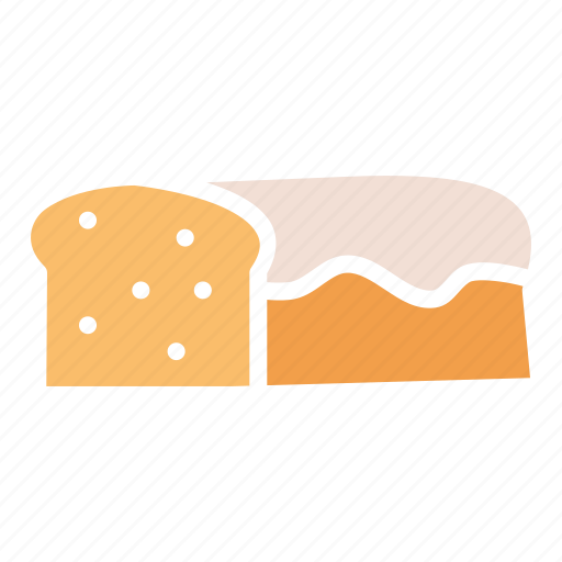 Bake, bread, easter, food, gluten, loaf, wheat icon - Download on Iconfinder