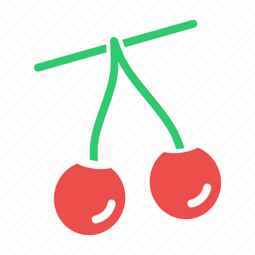 berries, berry, cherries, cherry, easter, fruit, spring icon