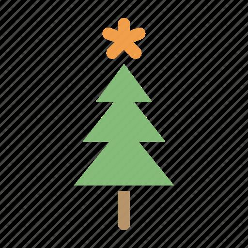 celebration, christmas, decoration, easter, snow, star, tree icon