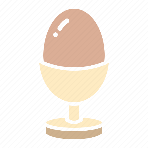 boiled, easter, egg, food, hard, meal icon