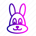 bunny, celebration, cute, easter, holiday, rabbit icon