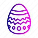 celebration, chocolate, decoration, easter, egg, holiday icon