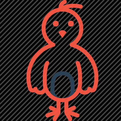 animal, bird, chick, chicken, hen, nature icon