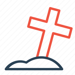 christian, cross, easter, grave, jesus, religion, shine icon
