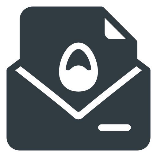 card, easter, message, port icon