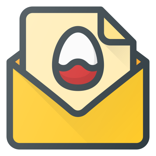 buble, chat, easter, message icon