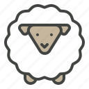 animal, easter, lamb, sacrifice, sheep icon