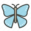 butterfly, easter, eternal life, hope, insects, transformation icon