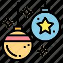 adornment, ball, bauble, christmas, xmas icon