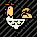 animal, bird, farm, hen icon