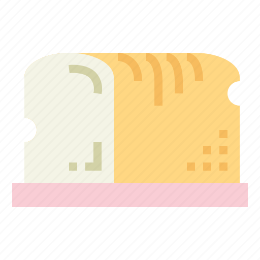 bread, breakfast, food, toast icon