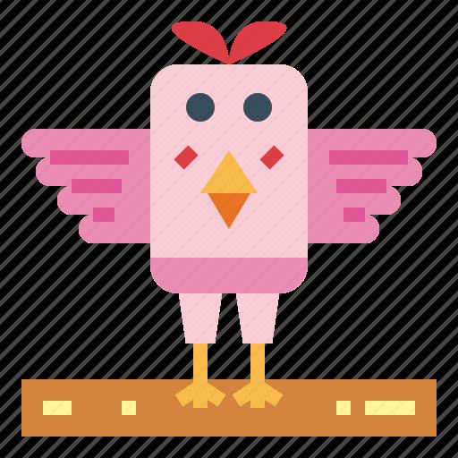 animals, bird, chicken, farm icon