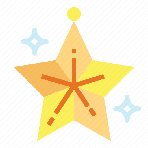 light, night, shapes, star icon