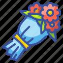 blossom, botanical, bouquet, flora, flower, nature icon