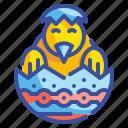 animal, chick, chicken, egg, hatch, hen, turkey icon
