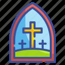 chapel, church, cross, culture, faith, landmark, religion icon