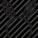 band, bunny, crowns, ear, hair, hairband, headband icon