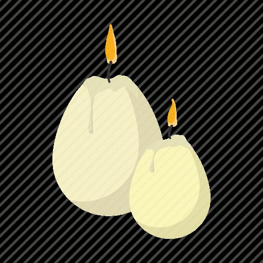 candle, cartoon, easter, egg, holiday, religion, season icon