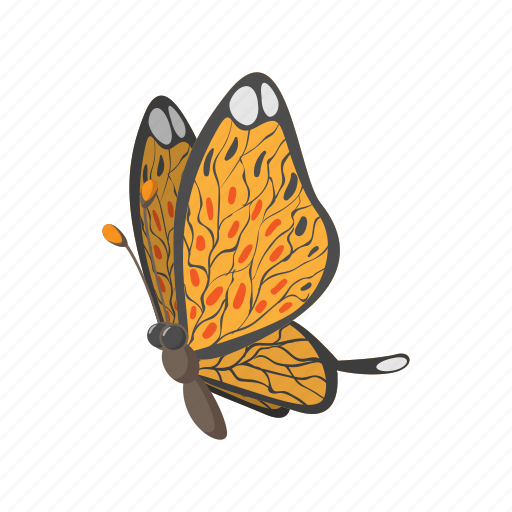 butterfly, cartoon, cute, easter, insect, nature, spring icon