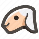 animal, easter, head, holy, lamb, ram, sheep icon