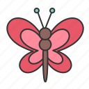 animal, bug, butterfly, easter, nature, spring icon