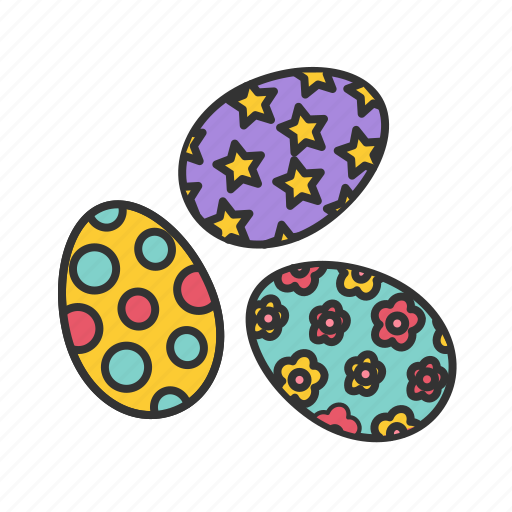 decoration, easter, egg, eggs icon