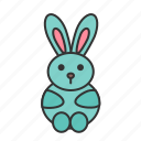 animal, easter, pet, rabbit icon