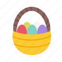 decoration, draw, easter, egg, eggs, spring, basket