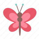animal, bug, butterfly, easter, spring icon