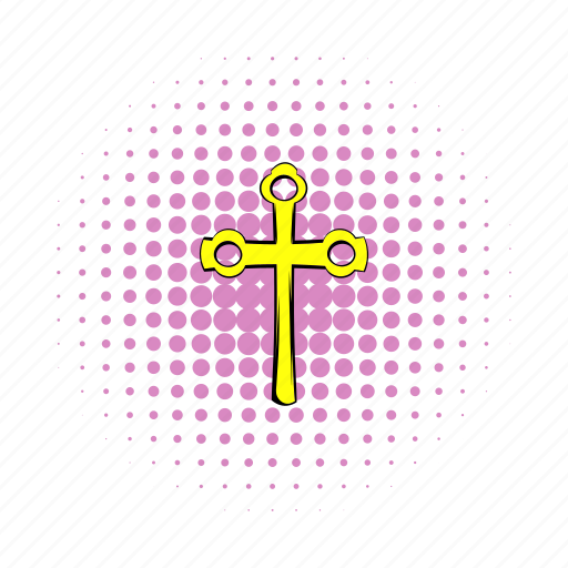 christ, christian, christianity, comics, cross, easter, gold icon
