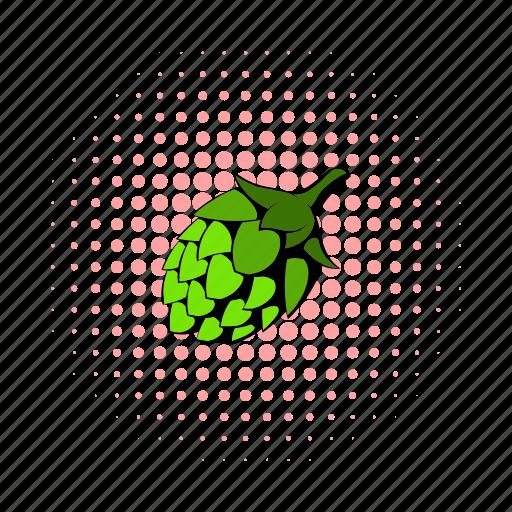 beer, botany, brew, comics, flavor, hop, plant icon