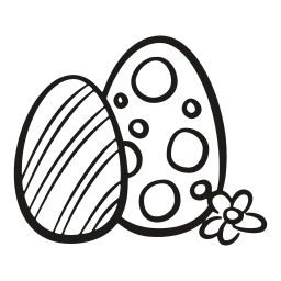 chicken, decorated, easter, egg, fragile, hen, spring icon