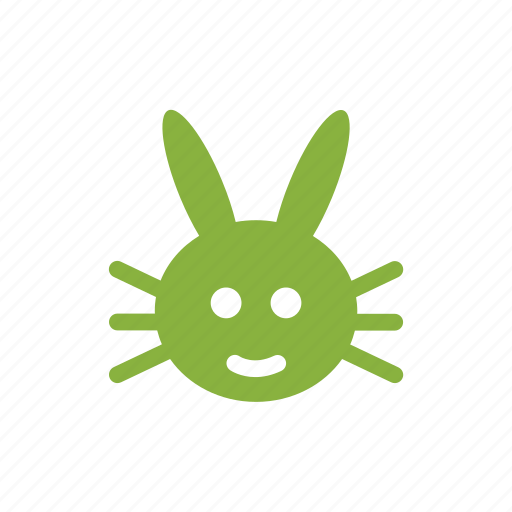 bunny, easter, egg, rabbit icon