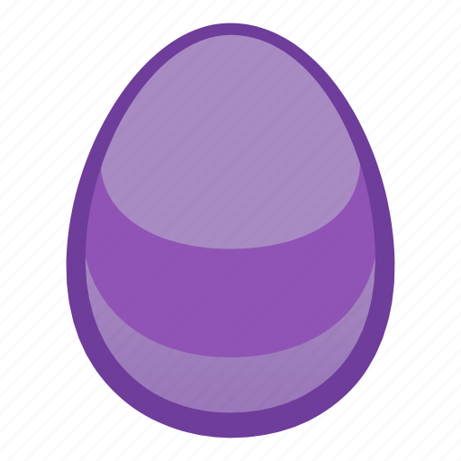 colored, decoration, easter, egg, holiday, hunt, season icon