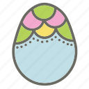 bunny, easter, egg, eggs, food, garden, rabbit icon