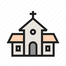 building, christ, christian, church, cross, religion, top icon