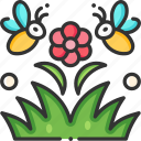bee, fly, honey, insect, nature icon