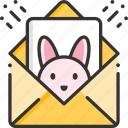 contact, easter, email, letter, mail