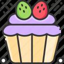 cupcake, food, muffin, sweet