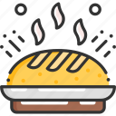 bakery, bread, breakfast, food, meal icon