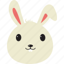animal, bunny, easter icon