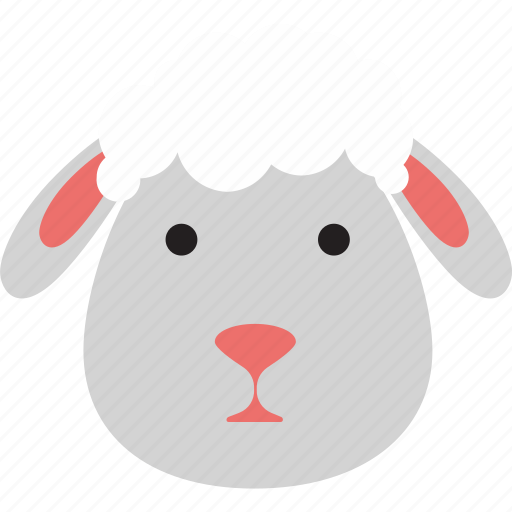 animal, easter, lamb icon