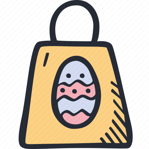 bag, catholic, celebration, color, easter, spring icon